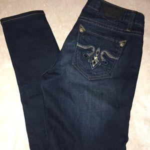 Rerock for Express Skinny Bling Jeans